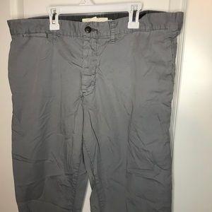 H&M men's grey khakis